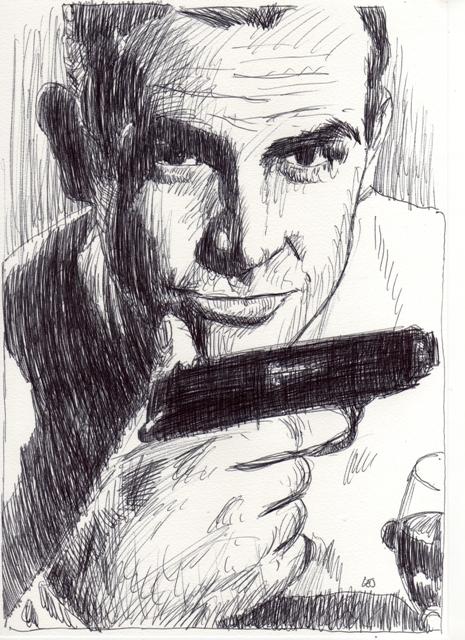 Sean Connery by francisleonard